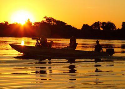 Pantanal-Jaguar-House-Boat-Sunset-Photography-Brazil-Ecotravel